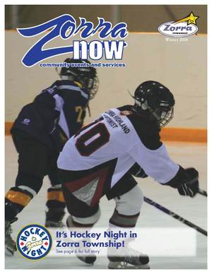 Image of Zorra Now Winter 2008 Cover