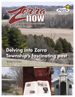 Image of Zorra Now Winter 2009 Cover