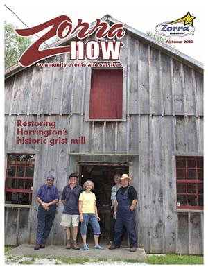 Image of Zorra Now Fall 2010 Cover