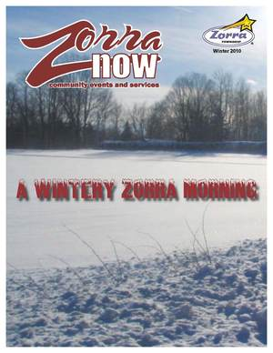 Image of Zorra Now Winter 2010 Cover